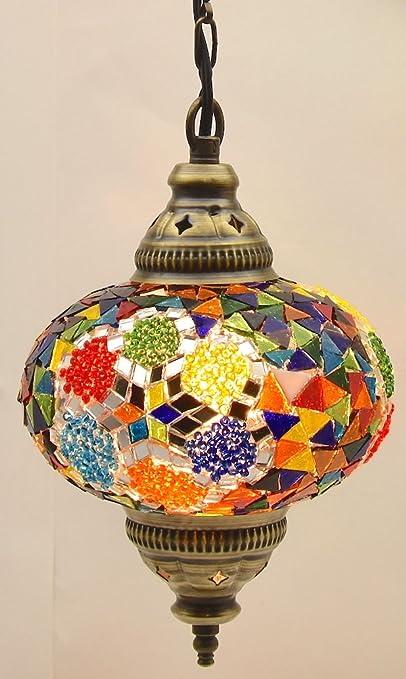 Amazon.com: Araña de (elegir entre 5 diseños) vidrio Mosaico ...