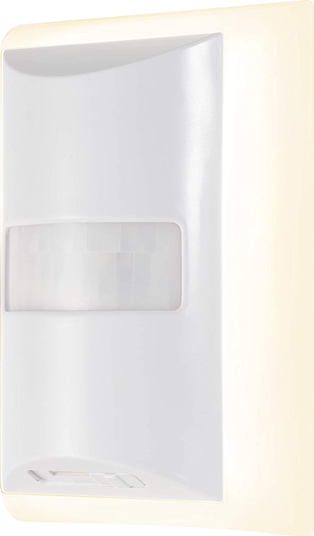 GE Enbrighten White LED Night Light, Motion Sensor, Dimmable, Plug-in, 60 Lumens, Home Décor, Ideal for Bedroom, Bathroom, Nursery, Hallway, 41331, 1 Pack