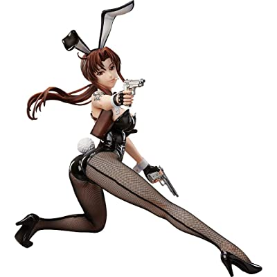FREEing Black Lagoon: Revy (Bunny Version) 1: 4 Scale PVC Figure: Toys & Games