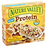 Nature Valley Protein Chewy Bar, Honey, Peanut & Almond with Pumpkin Seeds, 1.42 Ounce, 5 Count (Pack of 3)