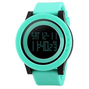 Zmsdt Reloj Deportivo Reloj Electrónico Eólico Luminoso Reloj Multifuncional Impermeable Reloj Universitario para Hombre Y Mujer Reloj Digital Al Aire Libre ...
