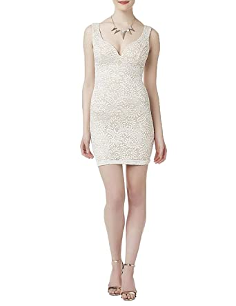 abeefac4b Image Unavailable. Image not available for. Color: Emerald Sundae Juniors'  Lace Sleeveless Dress.