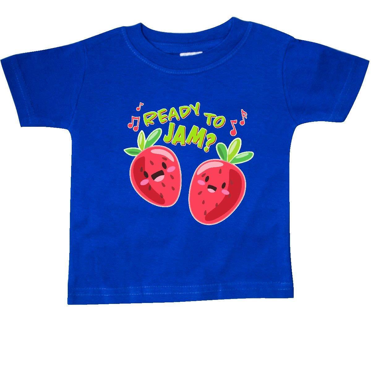 Fun Strawberries Baby T-Shirt inktastic Ready to Jam