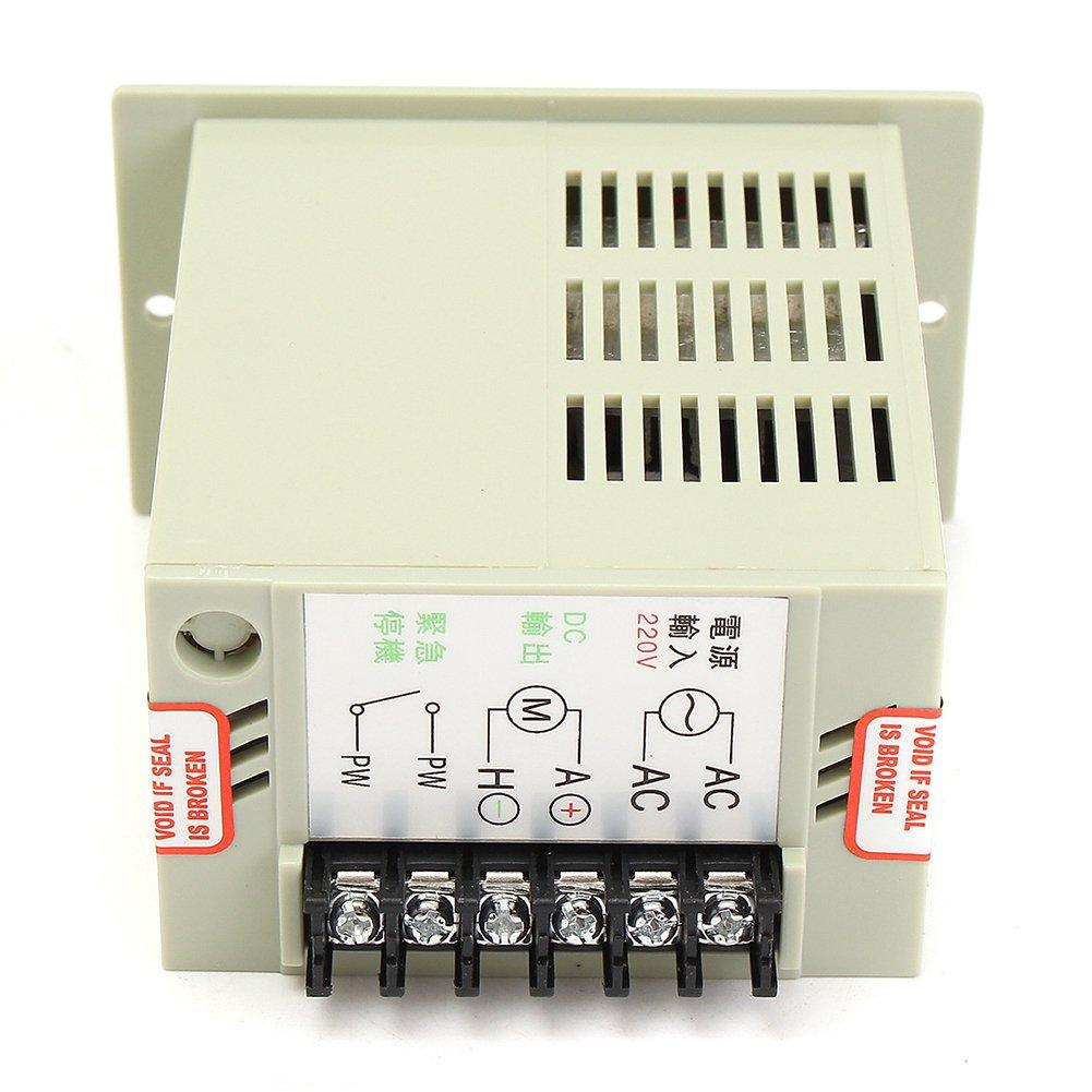 220V AC 50hz Speed Controller Switch for 50W~400W Motor DC 0-220V Adjustable