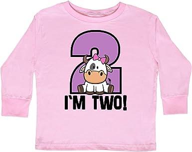 inktastic Im 2 Owl 2nd Birthday Cute Toddler Long Sleeve T-Shirt