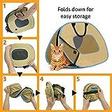SportPet Designs Cat Carrier with Zipper