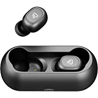 True Wireless Earbuds, Dudios Bluetooth 5.0 in-ear Stereo Headphone with microphone 15 Hours Playtime, Binaural Call, Instant Pairing, One-Button Control