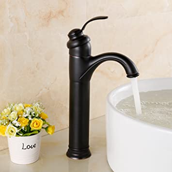 Yodel Bathroom Vessel Sink Faucet, Oil Rubbed Bronze - - Amazon.com
