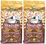 Newman's Own Coffee Whole French Roast, 10 Oz (Pack of 2)