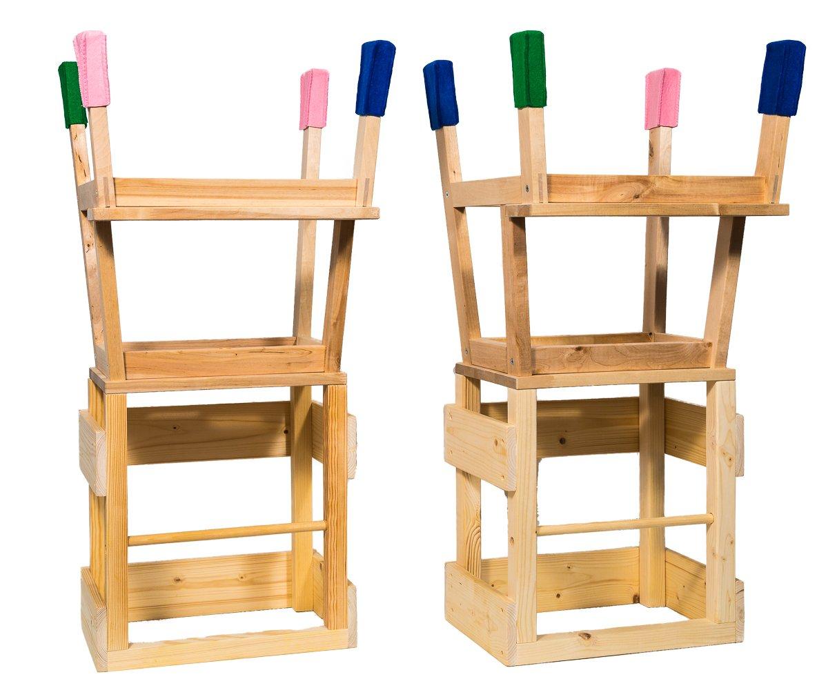 Promoción por tiempo limitado Torre de aprendizaje Learning Tower by deski Torre con 4 Fieltro Calcetines para los pies Torre – Aprendizaje Tower Learning Tower Cocina ayuda montessori azul azul