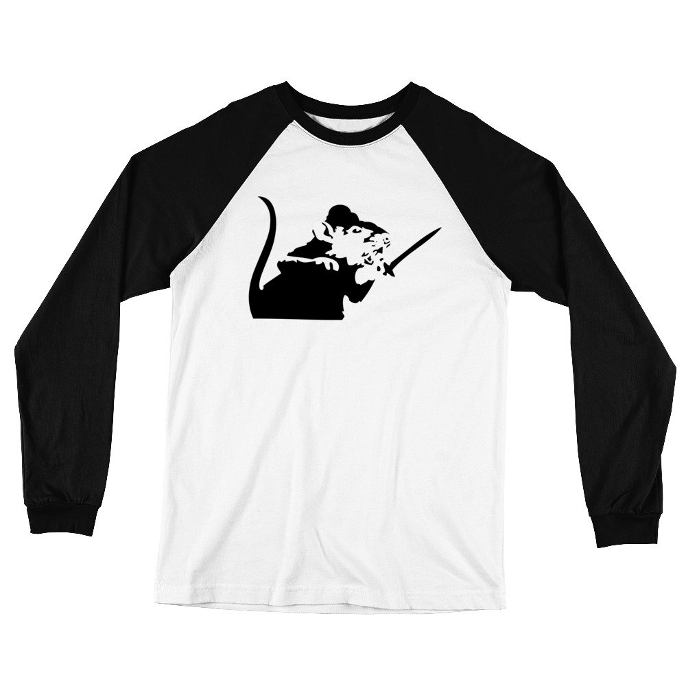 Amazon com: That Merch Store Banksy Rat with a Sword