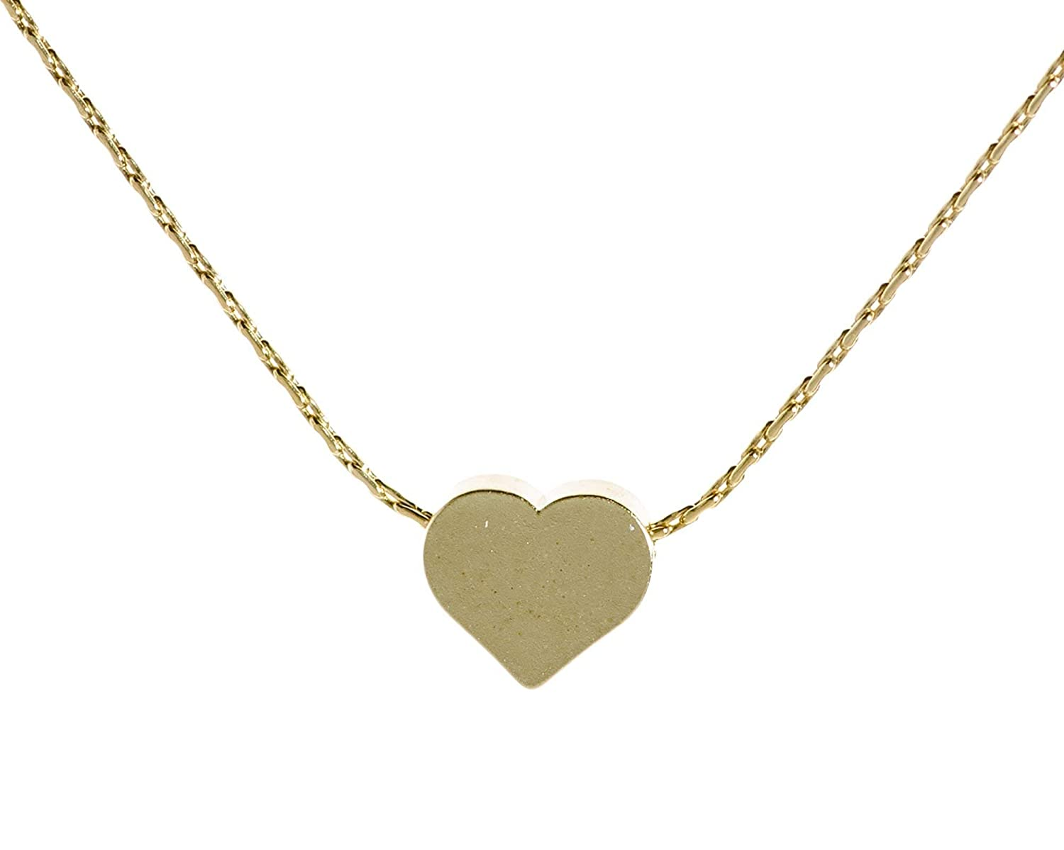 GOLD  HEART CHARM Necklace,Gold filled Heart Charm Necklace