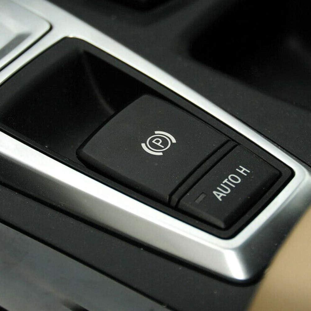 znwiem Auto Feststellbremse P-Taste Schalterabdeckung f/ür BMW X5 E70 X6 E71 Auto Bremssystem Ersatz