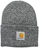 : Carhartt Men's Acrylic Watch Hat A18, Black/White, One Size