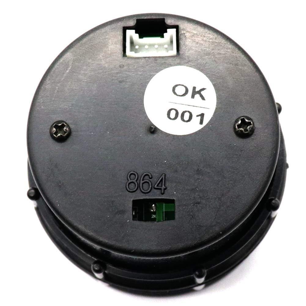 WXQ-XQ 12V 7 Color LED Backlight Voltmeter Car Vehicle 8-18V Voltage Gauge Meter Clear LED Display with 7 Colors Backlight for Car Truck Boat