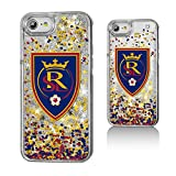 Keyscaper MLS Real Salt Lake Confetti Glitter Case for iPhone 8/7/6, Clear