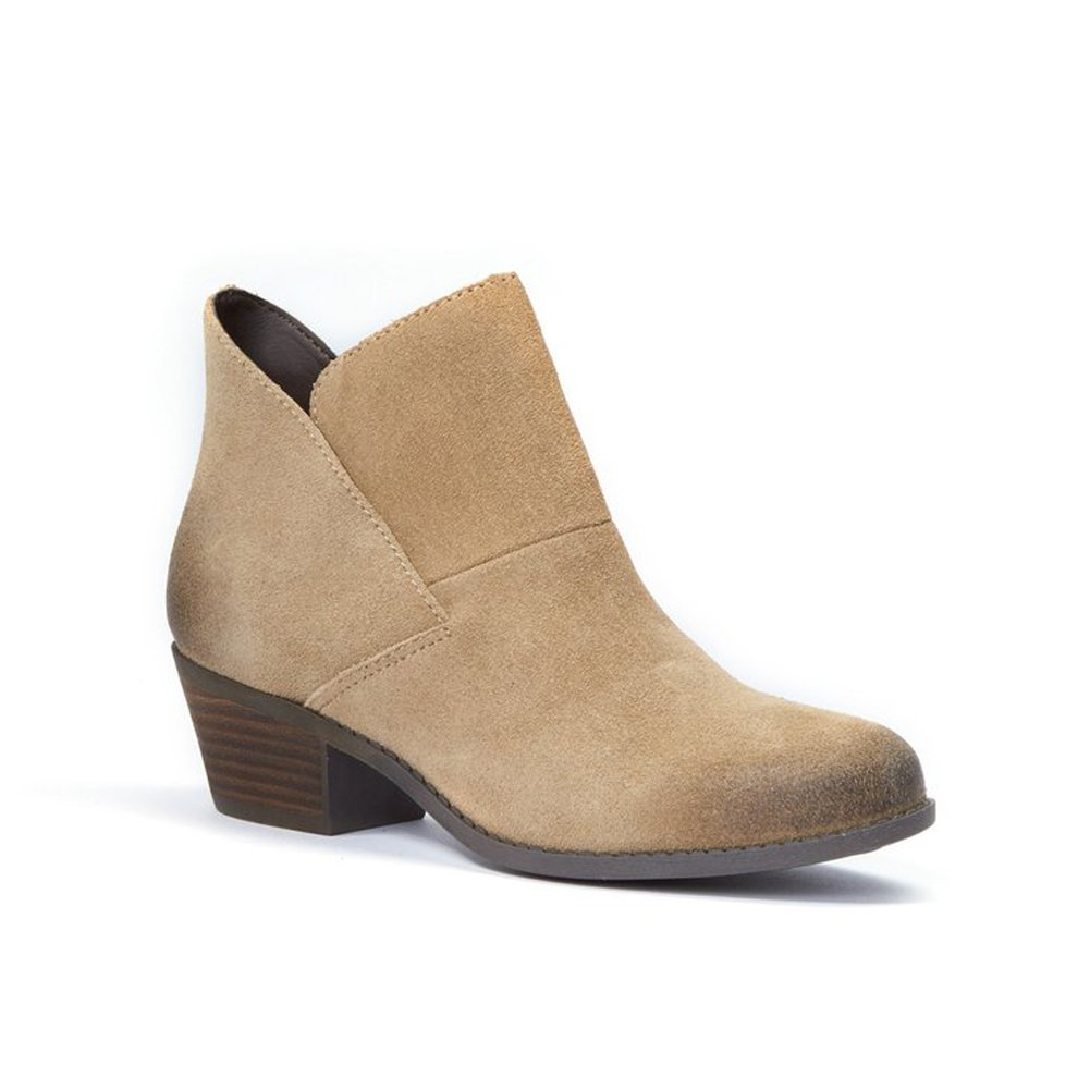 Simba Suede Me Too Womens Zena 14 Leather Almond Toe Ankle Fashion Boots