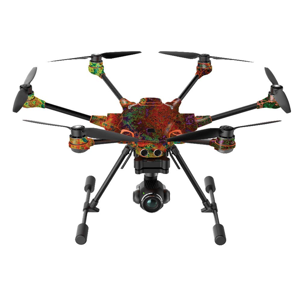 MightySkins Skin Compatible with Yuneec H520-G Quadcopter Drone - Rust | Protective, Durable, and Unique Vinyl Decal wrap Cover | Easy to Apply, Remove, and Change Styles | Made in The USA