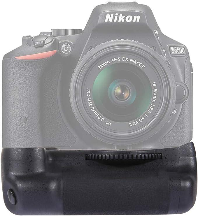 WSJ PULUZ - Empuñadura de batería para cámara réflex Digital Nikon ...