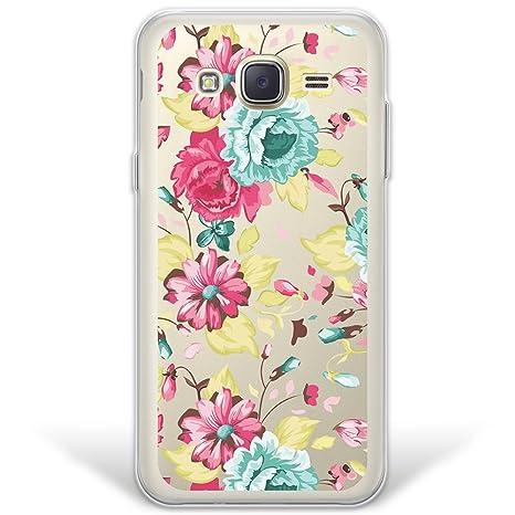 WoowCase Funda Samsung Galaxy J5 2015, [Hybrid] Flores Case ...