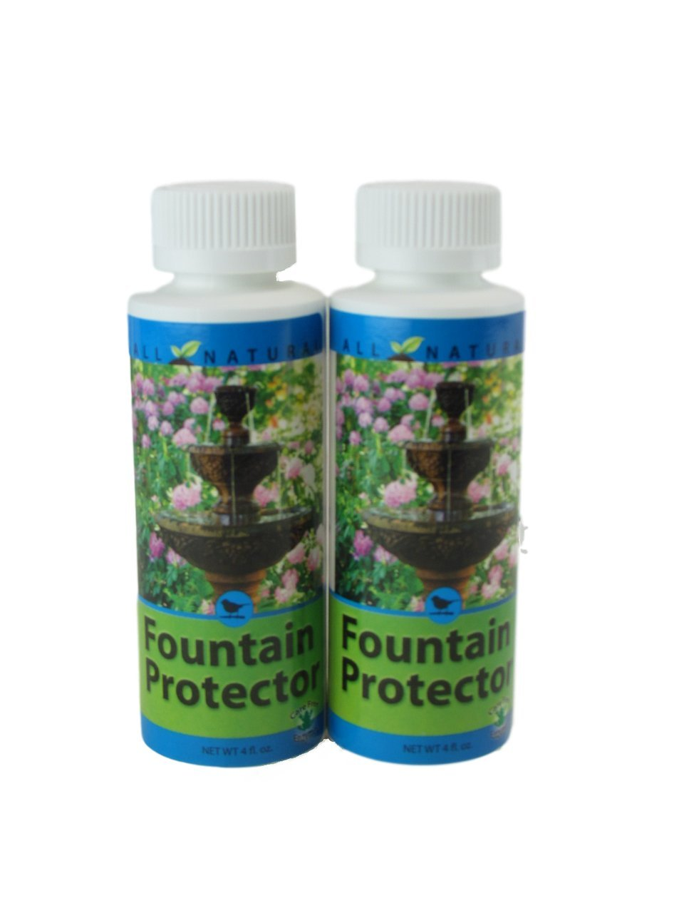 2 Pack 4 Oz Care Free Enzymes Fountain Protector Made in USA 95663D