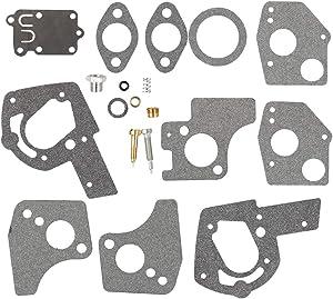 Venseri 495606 494624 Carburetor Overhaul Repair Rebuild Kit fits Briggs & Stratton Pulsa Jet Carb 80200 81200 82200 3 Thru 5 HP Horizontal Engines