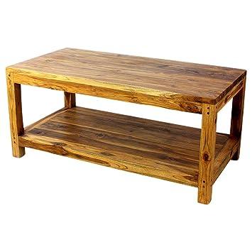 Amazon Com Haussmann Teak Coffee Table W Shelf 40 X 20 X 18