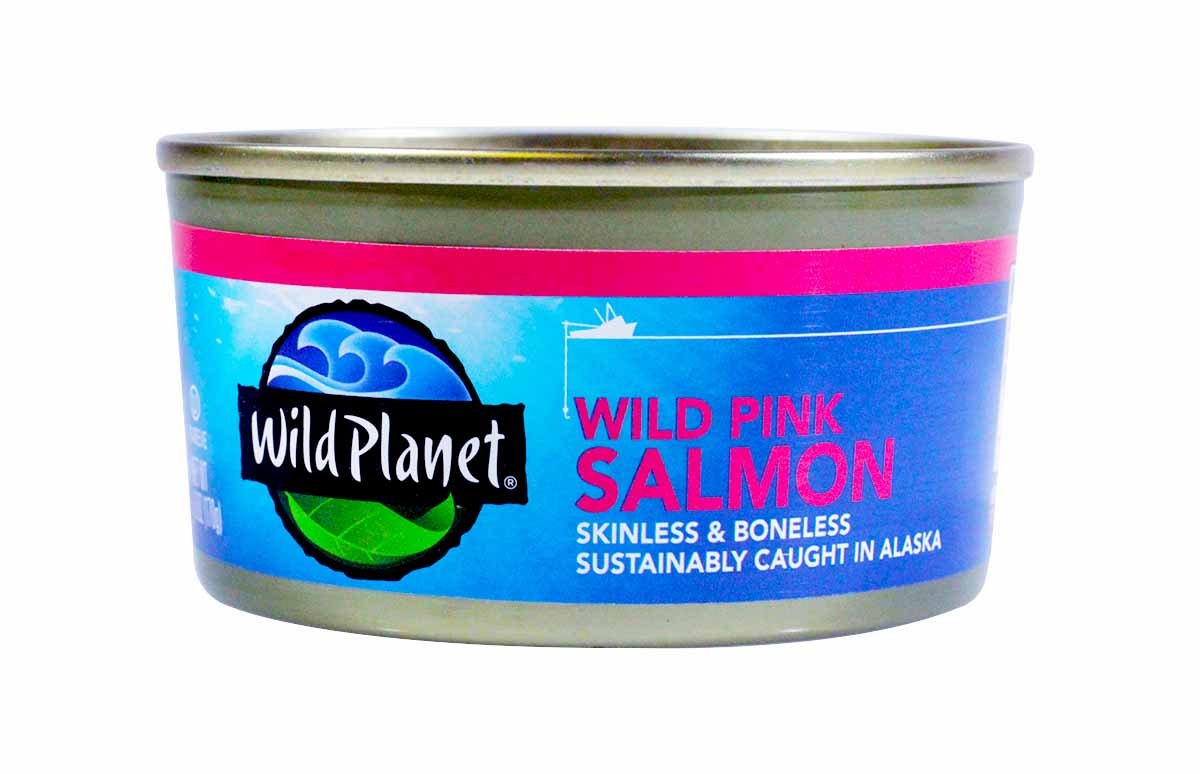 Wild Planet Wild Alaskan Pink Salmon Boneless Skinless 6 Ounce Cans