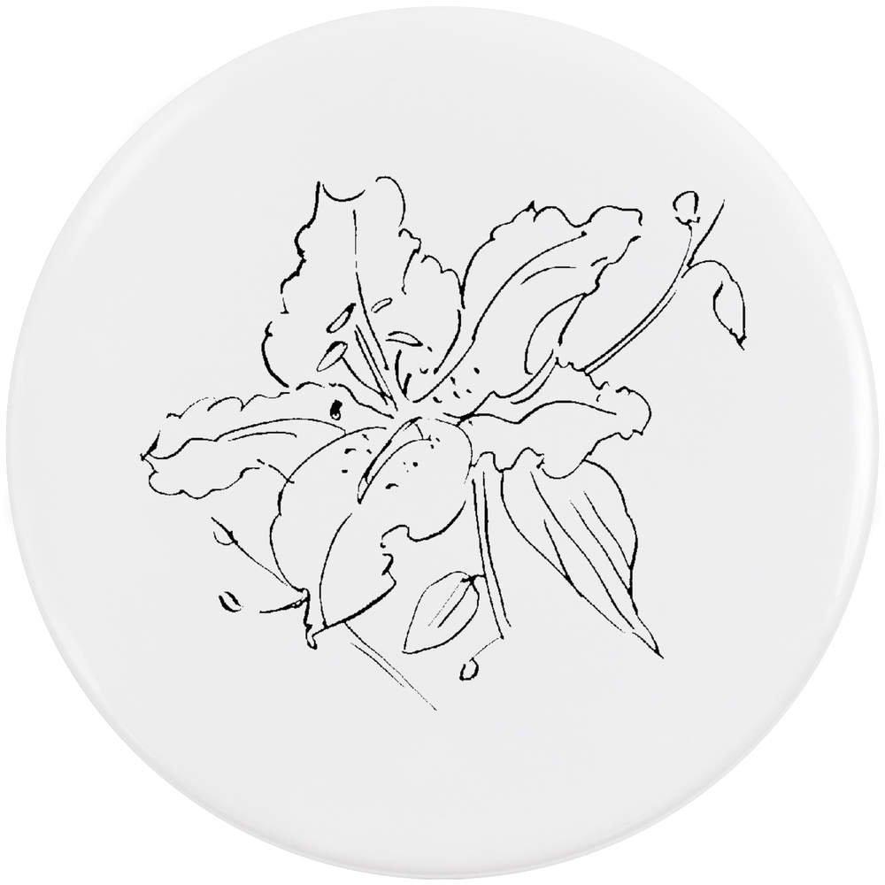 Azeeda 58mm 'Lis' Bouton de Badge (BB00017261)