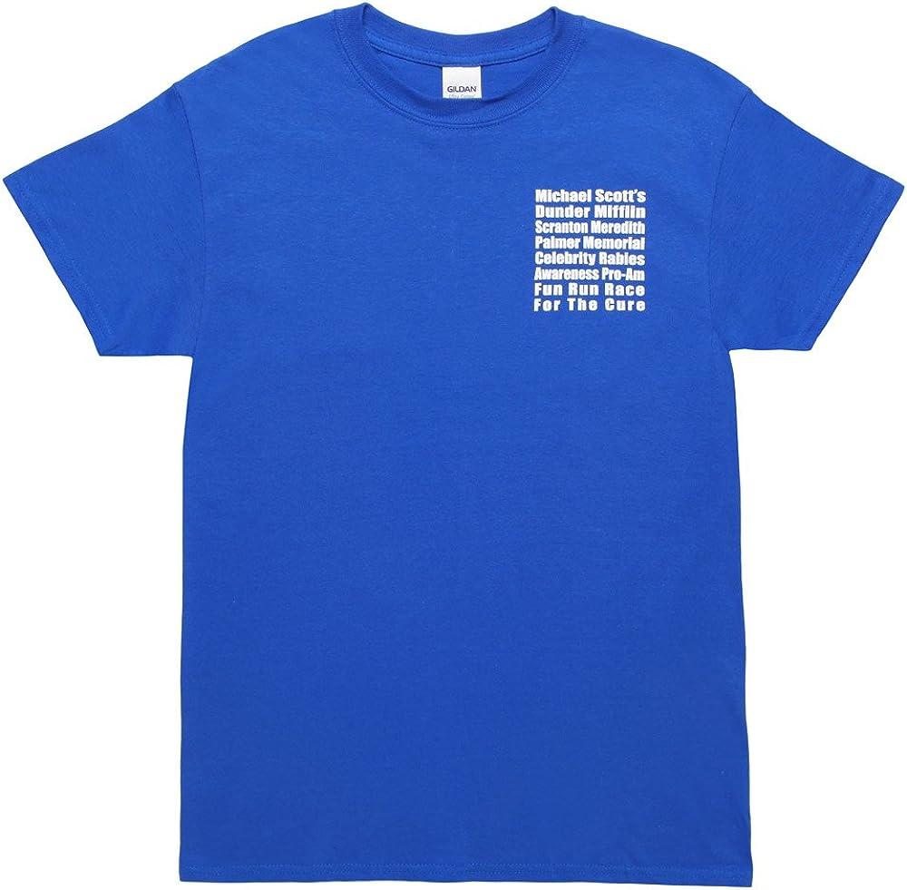 The Office Michael Scott's Dunder Mifflin Fun Run Race T-Shirt