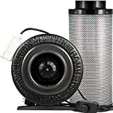 6 charcoal filter combo - Yield Lab 6 Inch 440 CFM Charcoal Filter and Duct Fan Combo Kit