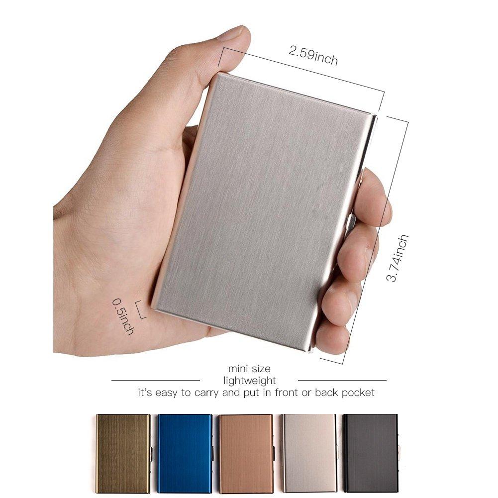Amazon.com: RFID - Tarjetero para hombre y mujer, delgado ...