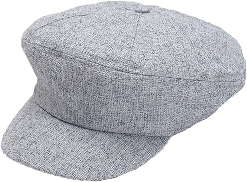 Women Cotton Newsboy Cap...