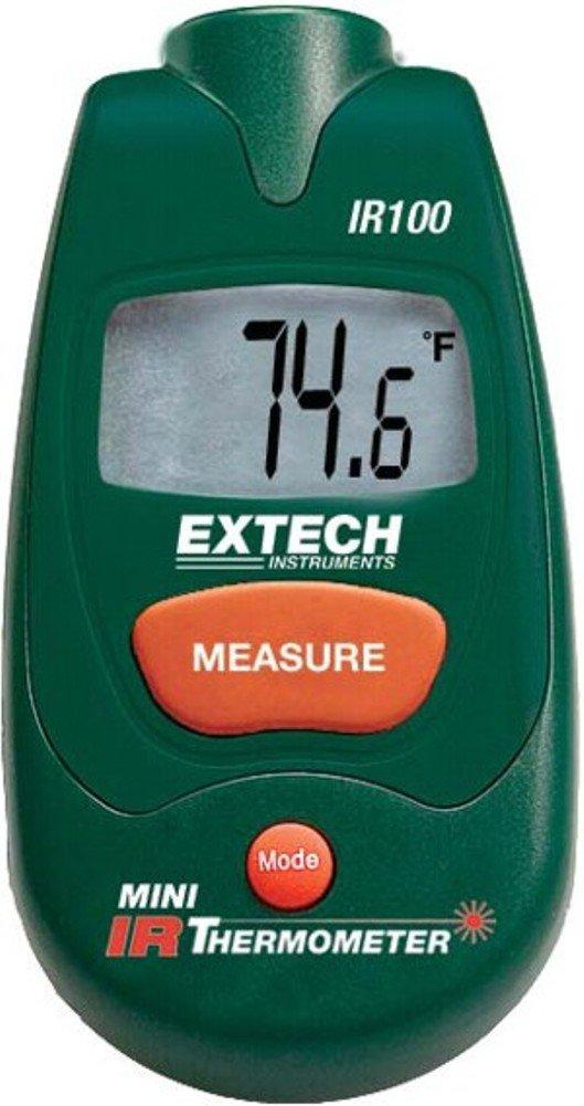 Extech AO-39756-09 IR100 Mini Infrared (IR) Thermometer; 1: Distance-to-Target