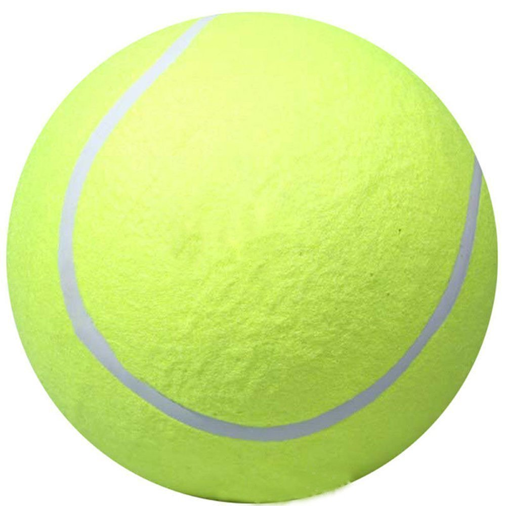 """Funrarity Giant 9.5"""" Tennis Ball Pet Cat Dog Toy"""