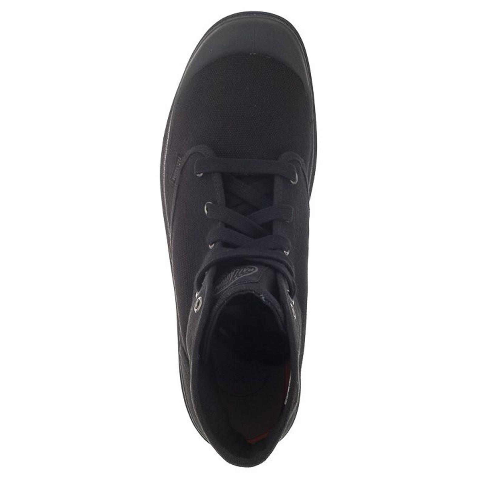 Palladium Men's Pampa Hi Canvas Boot,Black,12 M US