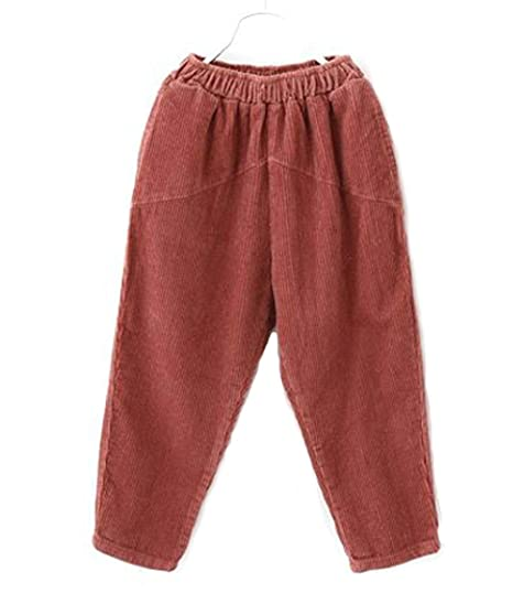 super cheap compares to great deals 2017 search for original Ozkiz Mile Pink Red Beige Corduroy Pants with Elastic ...