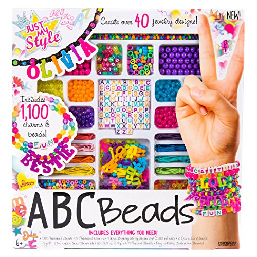 Just My Style Personalized ABC Beads Kit, Primary