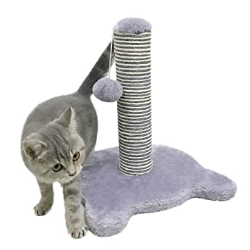 Petcomer Poste Rascador para Gato Árbol para Gato Juego para Gato (Morado Claro): Amazon.es: Productos para mascotas
