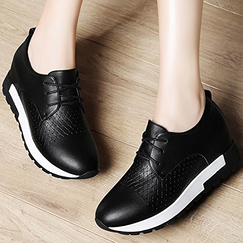 Shoes Help Loafer Low Thick five Students KHSKX Bottom Autumn Shoes Thirty Female To Leisure q8fgxPIw