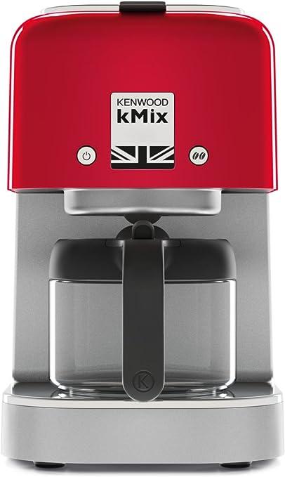 Kenwood kMix Independiente, Cafetera de filtro, 750 ml, De café molido, 1000 W, Rojo (Spicy Red): Amazon.es: Hogar