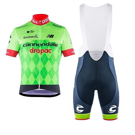 6ea71ec184b3 Wulibike Tuta Ciclismo Uomo Maglie Ciclismo Maniche Corte+Pantaloncini  Ciclismo Imbottiti Completo Ciclismo Squadra Professionale