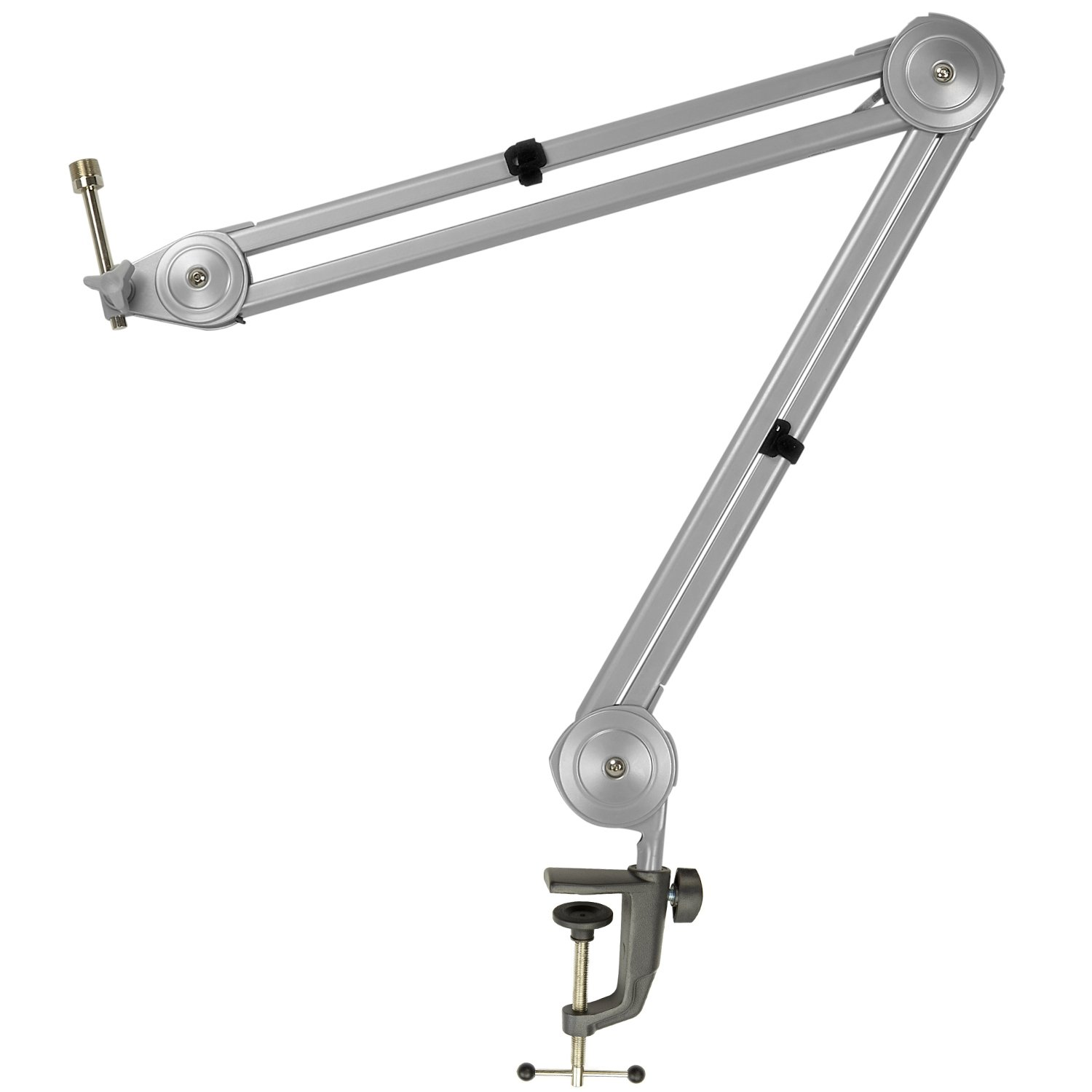 Knox Boom Microphone Stand Adjustable Scissor Arm Suspension Mic Holder For Recording Table Mount Durable Steel