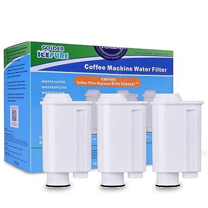 GOLDEN ICEPURE 3 Paquete Compatible con Siemens Bosch Gaggenau Neff Vero Bar Máquinas de café Totalmente
