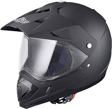ABS S-XL Off Road Motorcycle Dirt Bike Motocross Racing Helmet DOT Approved PGS