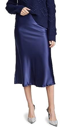 eb7eed95f7 Lioness Women's Bias Midi Skirt at Amazon Women's Clothing store