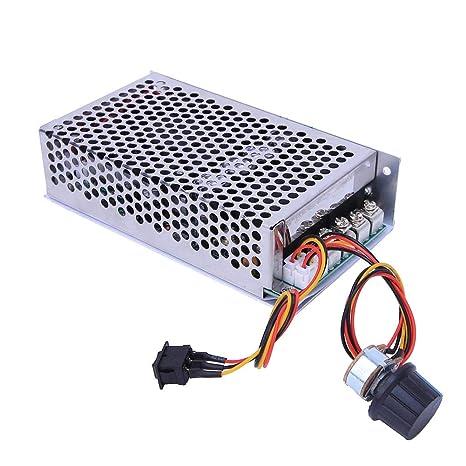 10-50V 100A 5000W DC Motor Controlador de velocidad PWM ...
