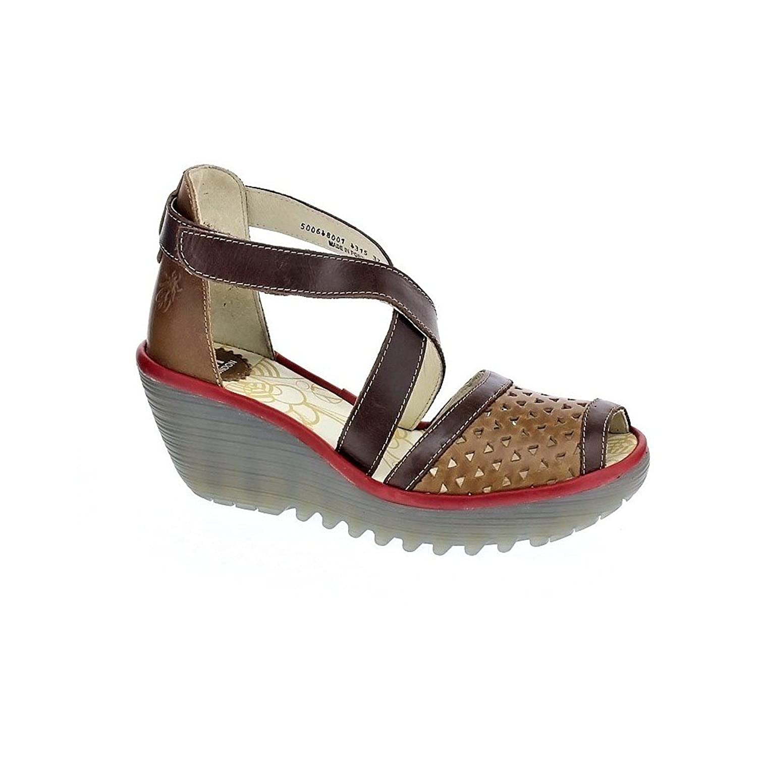 Fly London Womens Ynes Wedge B01FKMHXBQ 38 M EU
