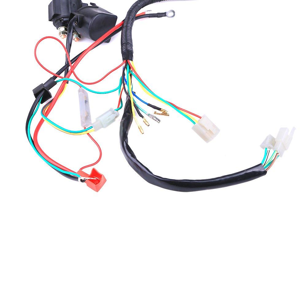 Complete Electrics Coil Cdi Wiring Harness Atv Klx Yamoto Wires Diagram Stator 50cc 70cc 110cc 125cc Automotive