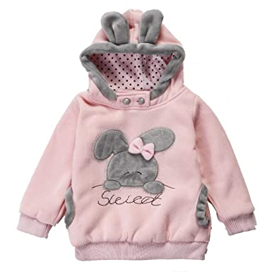 2f0810d32 eshion Baby Girls Toddler Kids Winter Big Ears Hoodie Jackets ...